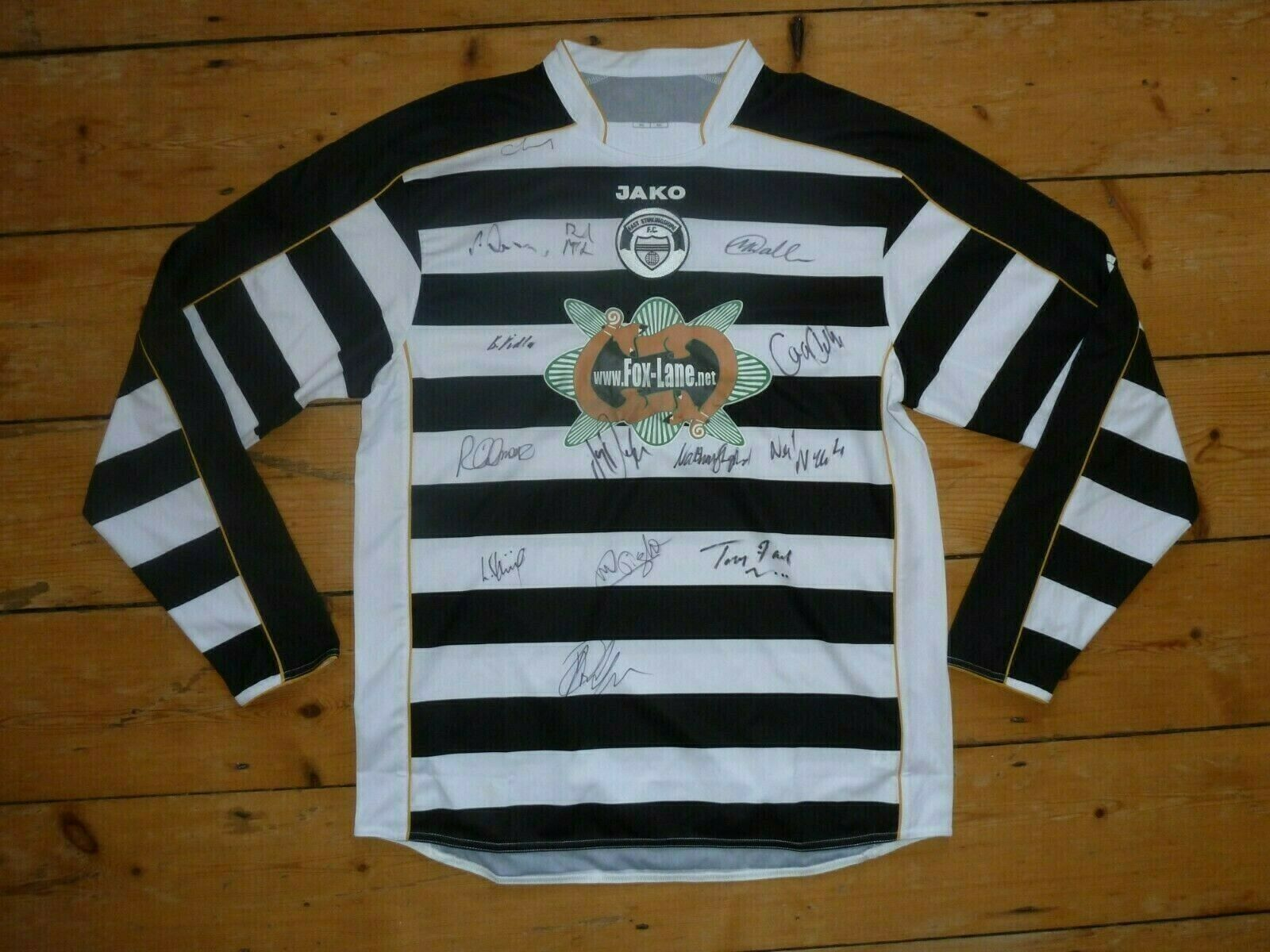 Aigned East Stirlingshire Fußball Trikot Fußball Shirt Zuhause Neu mit Etikett  | Verrückter Preis, Birmingham