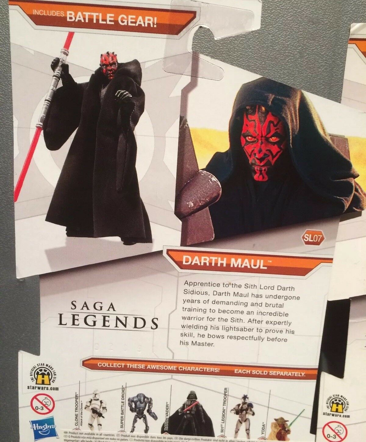 2009 2 x Star Wars Legacy Saga Collection - - - Darth Vader vs  Darth Maul ⭐️BNIB ⭐️ 933165