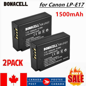 2-Replacement-LP-E17-Battery-for-Canon-EOS-T6s-760D-T6i-750D-Camera-1500mah-CA