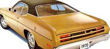 70 71 72 73 74  75 Plymouth Duster/Dodge Demon/Dart Sport BLACK Vinyl Top/Mopar