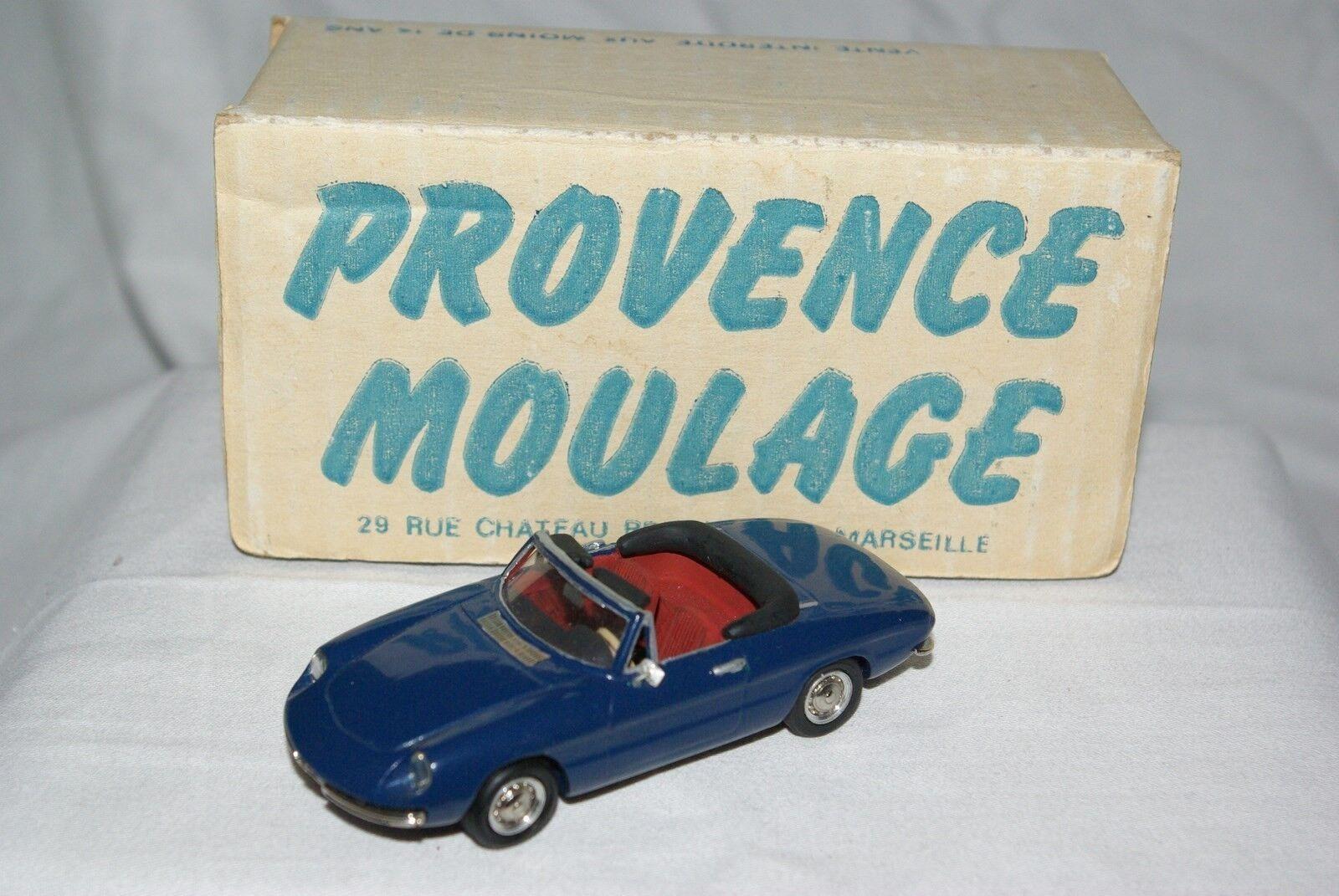 PROVENCE MOULAGE ALFA ROMEO DUETTO DARK blueE MINT BOXED RARE SELTEN RARO