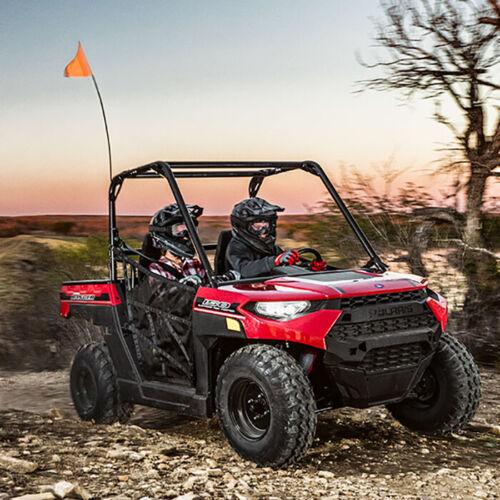 Set 4 Red /& Black Polaris Adventure Shock Covers Youth RZR 170 Ranger ACE 150