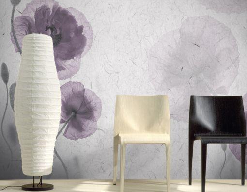 3D fiori neri 264 Parete Murale Carta da parati immagine sfondo muro stampa