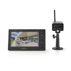 Surveillance-Funkkamera-Set-avec-Moniteur-2-4-GHZ-Live-Bild-Nachtsicht