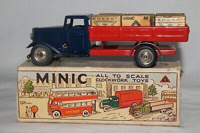 Analytisch 1950's Triang Minic Lieferung Lkw Mit Original Hüllen Und Original Box