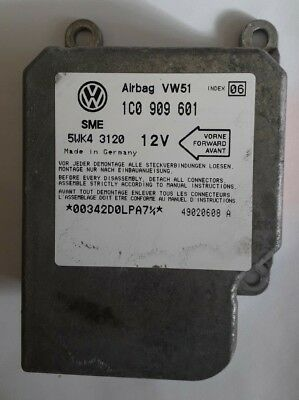 Lupo 3L Airbag Steuergert 6Q0909601 01R fr VW Lupo Auto ...