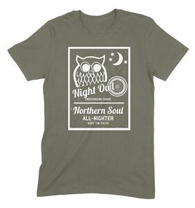 Night Owl Underground Dance Northern Soul Men/'s T-Shirt