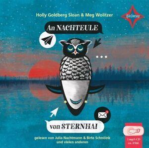 AN-NACHTEULE-VON-STERNHAI-GOLDBERG-HOLLY-SLOAN-WOLITZER-MEG-MP3-CD-NEW