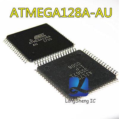 10PCS IC ATMEGA128A  ATMEGA128A-AU QFP-64 8-bit Microcontroller NEW