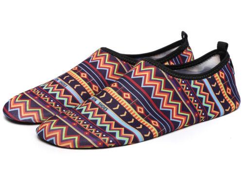 Men Women Water Shoes Aqua Socks Slip On Flexible Pool Beach Swim Surf Yoga