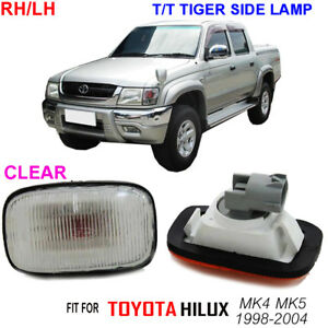 SIDE-MARKER-INDICATOR-LAMP-LIGHT-PAIR-TOYOTA-HILUX-TIGER-1998-00-99-MK4-PICKUP