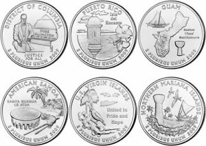 LOW MINTAGE Coin 2009 P American Samoa Territorial Quarter  BU from mint roll
