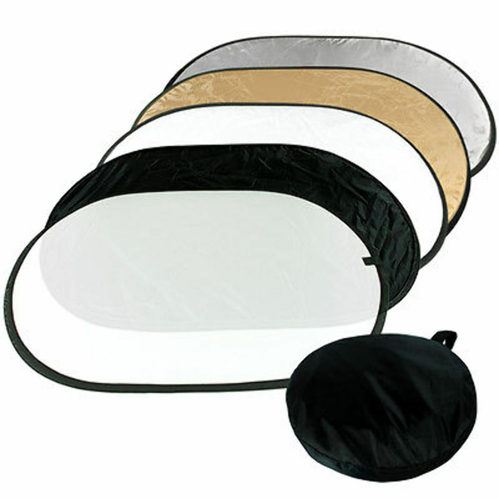 Studio 5-in-1 Photography Studio Multi Photo Collapsible Light Reflector 5 Color 2