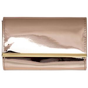 de de de de metalizada lustre Ta378 mujer pintura sobre Bolso Caspar embrague para noche bolso Ygazdq
