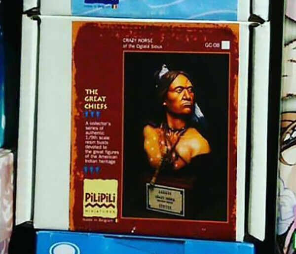 Pilipili Miniatures - Crazy Horse Oglala Sioux 1/9th Bust