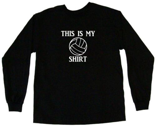 This is my Volleyball Logo shirt Mens Tee Shirt Pick Size Color Small-6XL