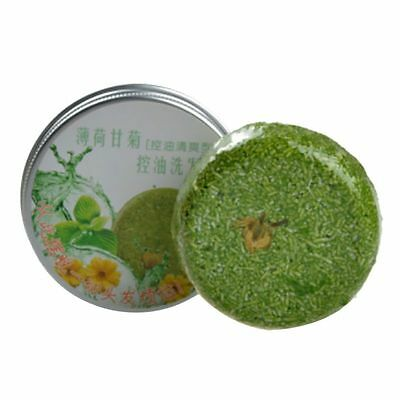 Mint Hair Soap Fragrance Smooth Shampoo Soap Hair Repairing Nourishes Beauty