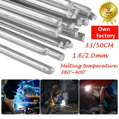 10PCS 33cm//1.08ft 1.6mm Solution Welding Flux-Cored Rods Aluminum Wire Brazing