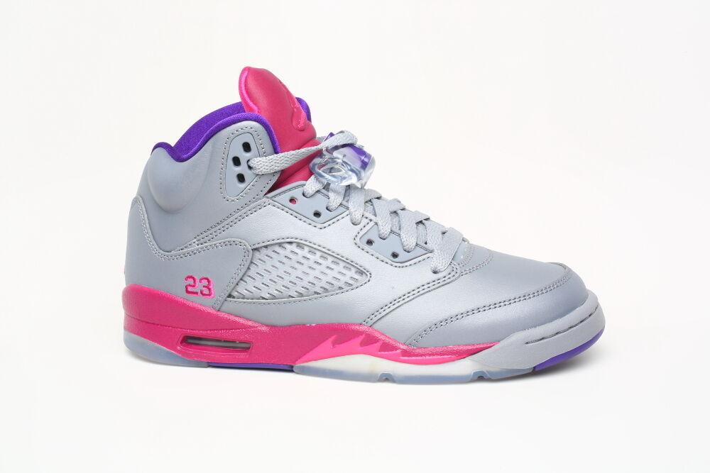 Nike air jordan v v v himbeer rose 5 440892 009 max bg gs sz - 4 75fb32