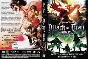 ANIME-DVD-ENGLISH-DUB-Attack-On-Titan-Season-1-3-Live-Action-FREE-SHIPPING-SKU3