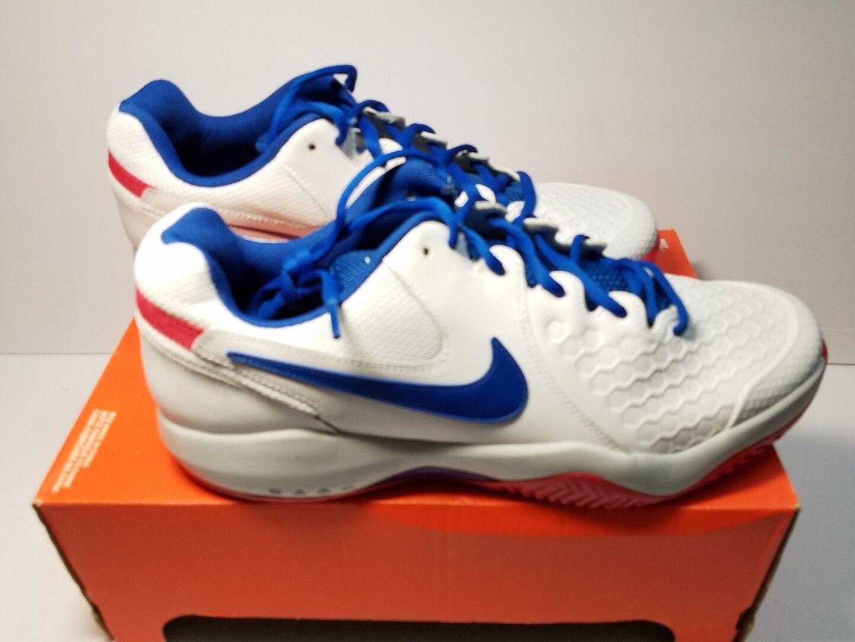 NIKE AIR ZOOM RESISTANCE  SZ 11.5 - 918194 100 TENNIS shoes 2018