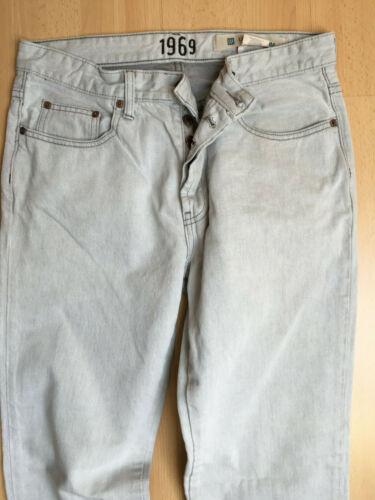 Taille Basse Gris Jeans L30 W32 Slim Gap Pantalon Pantalon CwUan4tqC