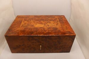 Wooden Jewellery box with 2 levels