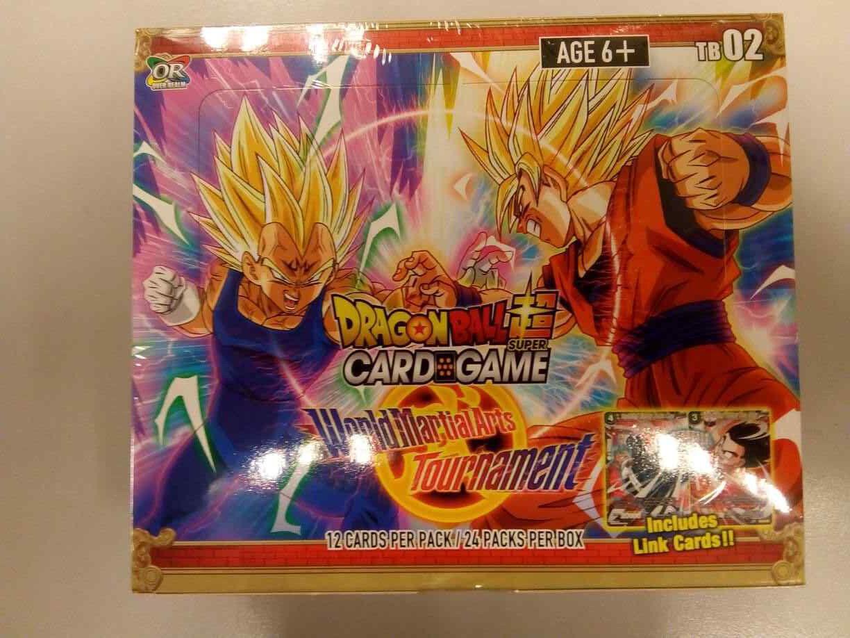 Dragon ball super - card game world turnier - box tb02