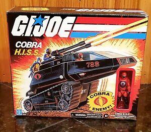 G. I. JOE Cobra HISS Tank + Driver BRAND NEW SEALED PACKAGE WALMART EXCLUSIVE