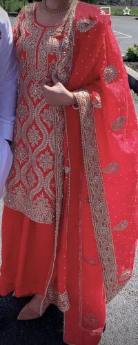 Indian Bollywood Salwar Kameez Suit Ethnic Wedding
