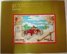 AUTOMOBILE QUARTERLY VOLUME 23 NUMBER 4 FOURTH QUARTER 1985 BAILEY CAR BOOK