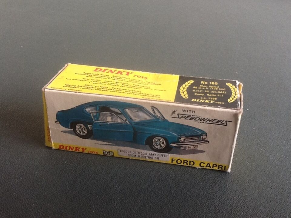 Boxed Dinky 165 Ford  Capri 1969-75   reduced   To Clear