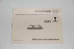 Marklin-H0-Original-Description-pour-Faire-de-l-039-isolation-acoustique-7171