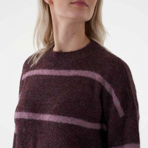Moss Copenhagen Maj Femme Alpaca Stripe Pull