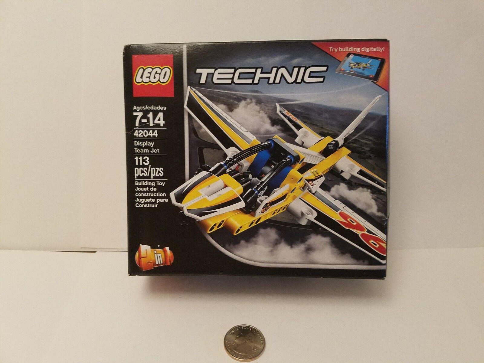 New  Lego Technic 42044 Display Team Jet-113 pieces. Great set little set Great 1fdebf