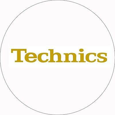 Attent Technics Dmc Turntable Slipmats (1 Pair) - White/gold