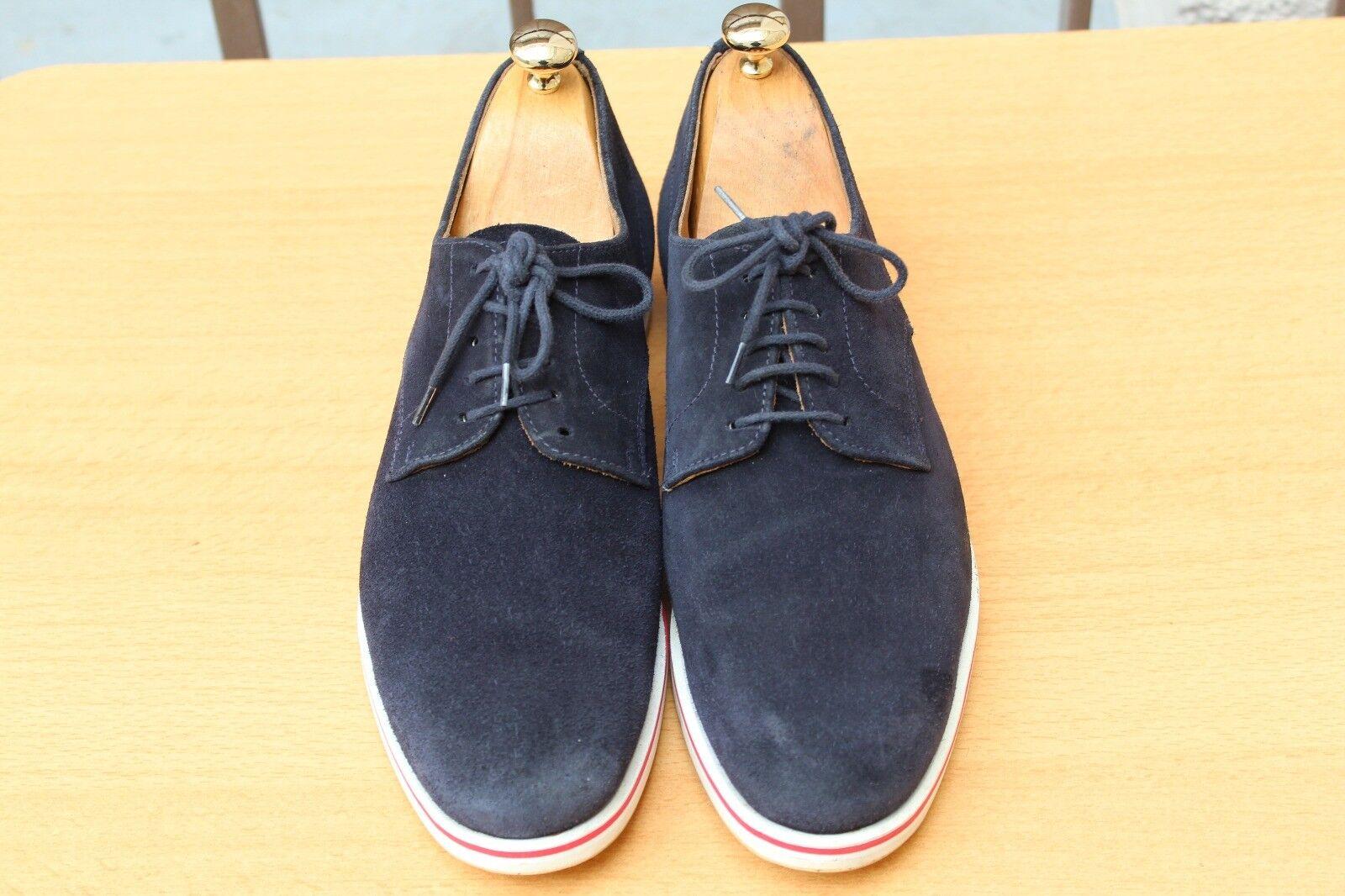 connotazione di lusso low-key CHAUSSURE CHAUSSURE CHAUSSURE CHURCH'S EN DAIM blu 40,5 SUPER ETAT scarpe  grande sconto