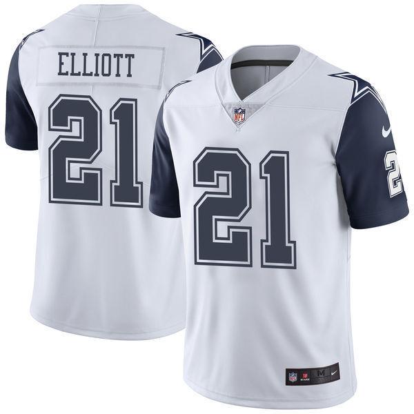 premium selection a4b4e 6dba0 Ezekiel Elliott Dallas Cowboys Nike Vapor Untouchable Color Rush Limited  Jersey
