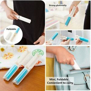 Reusable-Sticky-Buddy-Picker-Lint-Roller-Cloth-Dust-Hair-Remover-Cleaner-Brush