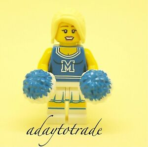 Lego Collection Mini Figure series 1 Pom-Pom Girl - 8683-2 COL002 R127