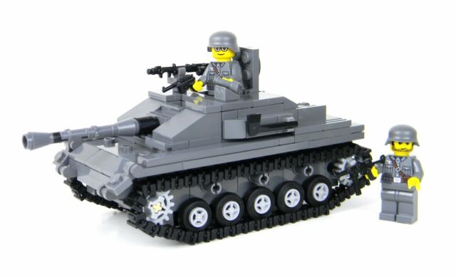 how to build a mini lego tiger tank