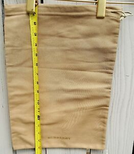 327f101f29b9 Image is loading NEW-Burberry-Beige-Thick-Cotton-Cloth-Dust-Bag-