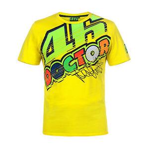 VR-46-Valentino-Rossi-46-THE-DOCTOR-Herren-T-Shirt-Gr-S-XXL