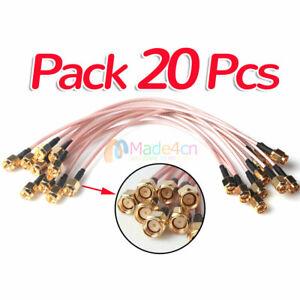 Li14 7.5/'/' RG316 SMA Male to SMA Male plug RF Pigtail Coax Jumper Cable Hot