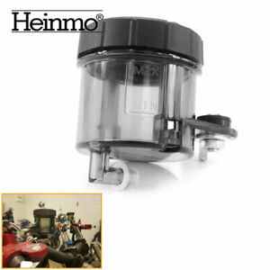 Motorcycle Cylinder Oil Cup Rear Brake Fluid Tank Reservoir ABS Fuel Container