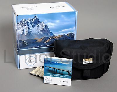 Lee Filters 100mm Deluxe Kit, 77mm Wide Angle Adapter Ring, Terrascape classic