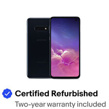 Samsung Galaxy S10e SM-G970U - 128GB - Prism Black (Unlocked) Smartphone