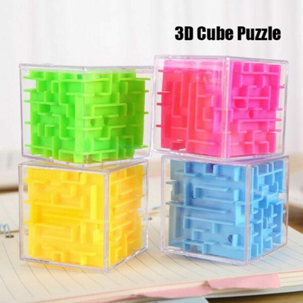 Acquista A Buon Mercato 8cm Puzzle Educativo Labirinto A Sfera Magic Cube Labirinto Rolling Giocattolo Bambini Bday Regalo