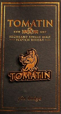 TOMATIN POT STILL SCOTCH MALT WHISKY LAPEL PIN BADGE GLENCAIRN