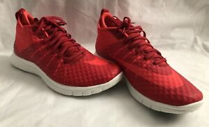 new product d223e 24bc9 Image is loading Nike-Free-Hypervenom-2-FS-Red-Crimson-Athletic-